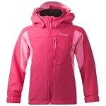 Reine - softshell dziecięcy Bergans of Norway / hot pink r. 104, 122