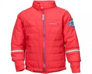 3bcaed2adc8d2 PUFFY - przejściowa kurtka termiczna dla dzieci Didriksons / Poppy (makowy)  r. 90