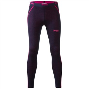 Akeleile Youth Tights - Kalesony hybrydowe  Bergans of Norway / Navy-Hot Pink